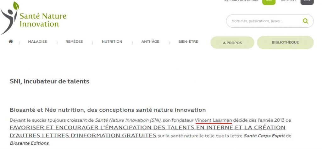 nom de laarman sante nature innovation